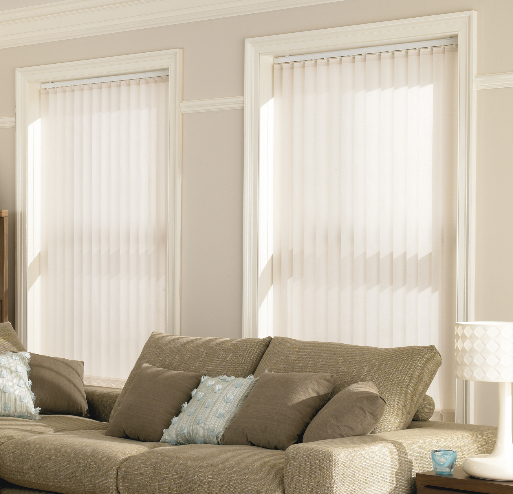 Vertical blinds are now available in the latest digital print designs