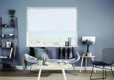 Roller Coral White - Galaxy Blinds